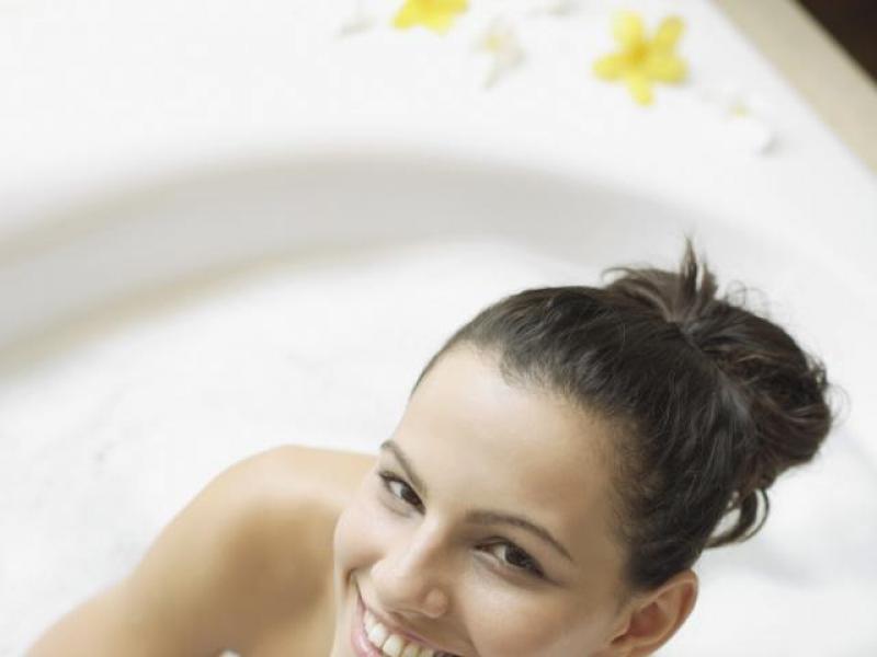 Kąpiel dodająca energii