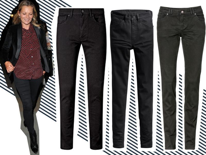 Kate Moss i spodnie