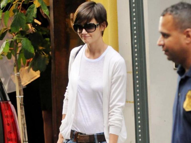 Katie Holmes: nonszalancka fashionistka