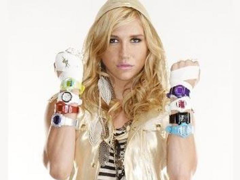 Ke$ha projektantką zegarków Baby-G