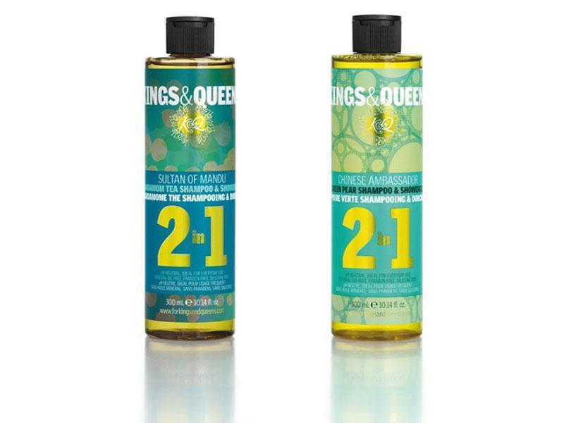 Kings & Queens Szampon - Żel pod prysznic 2 w 1