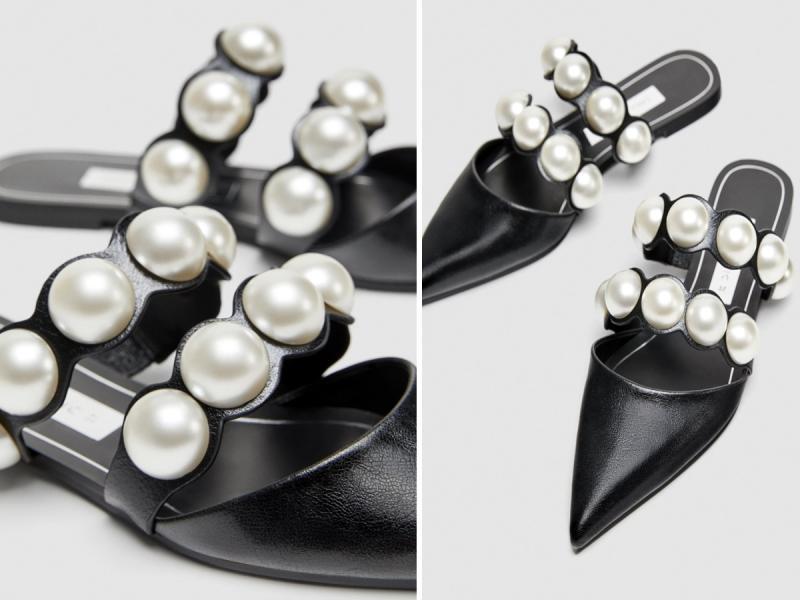 f547da7229b6b Modne klapki zdobione perłami wyprzedają w mgnieniu oka - Shopping ...