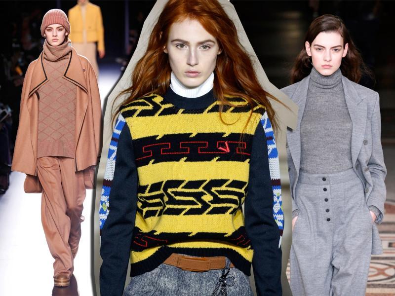 Klasyczny, prosty, lekko dopasowany do sylwetki – to klasyka stylu. Ten rodzaj swetra powinna mieć w szafie każda elegantka.