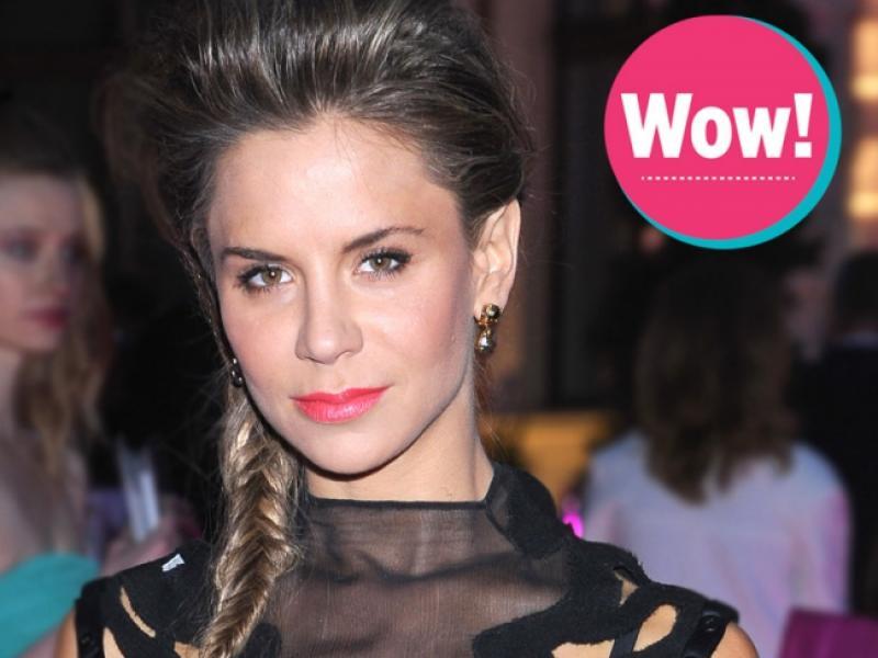 Kobieta Roku Glamour 2012 - Natalia Lesz w nowoczesnej fryzurze
