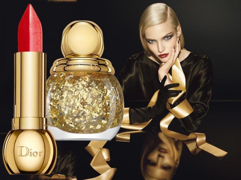 Dior Golden Shock kolekcja świąteczna 2014