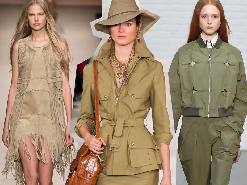 Kolor pyłu od lat jest hitem. Co teraz styliści myślą o khaki?