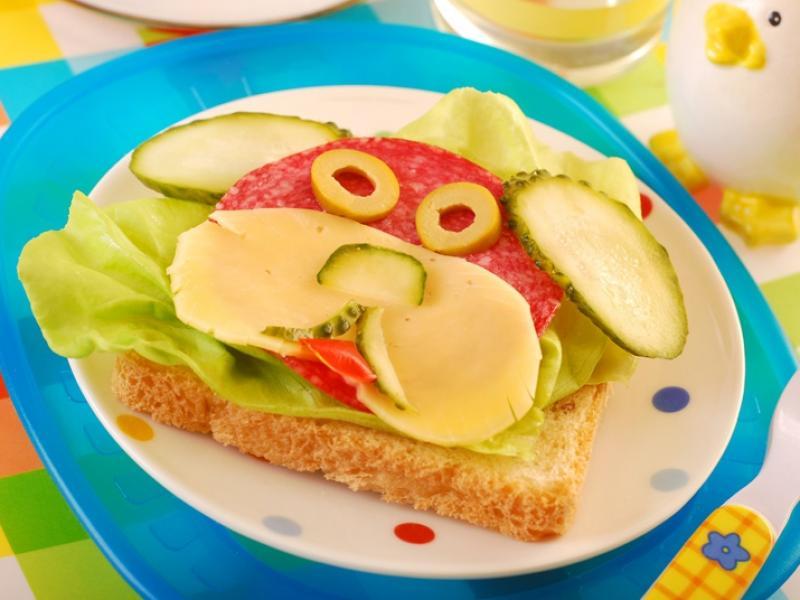 Znalezione obrazy dla zapytania kanapki wiosenne dla dzieci