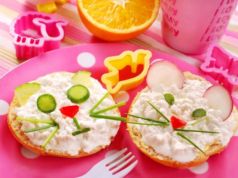 Znalezione obrazy dla zapytania kanapki kolorowe dla dzieci