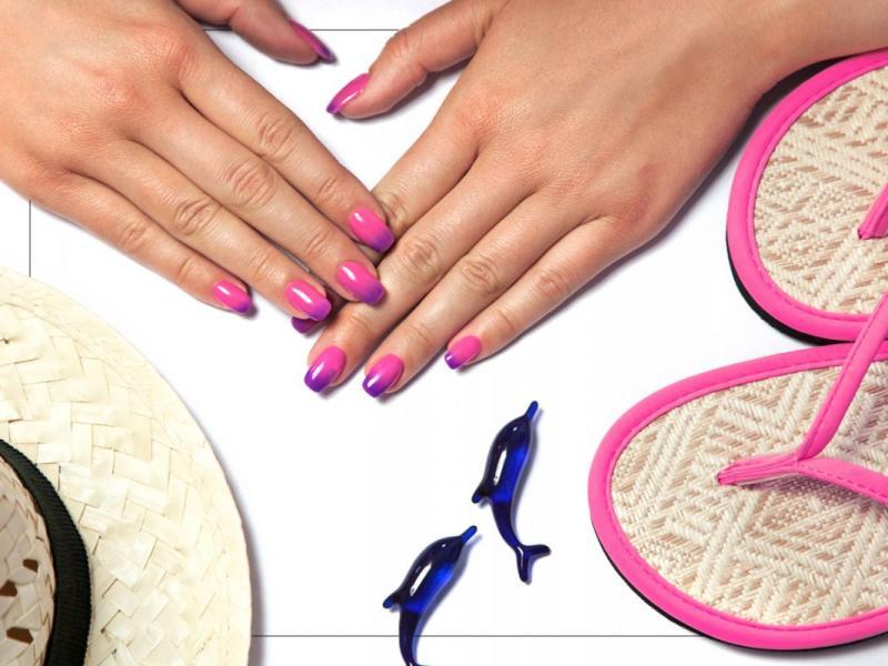 Kolorowe koktajle na twoich paznokciach