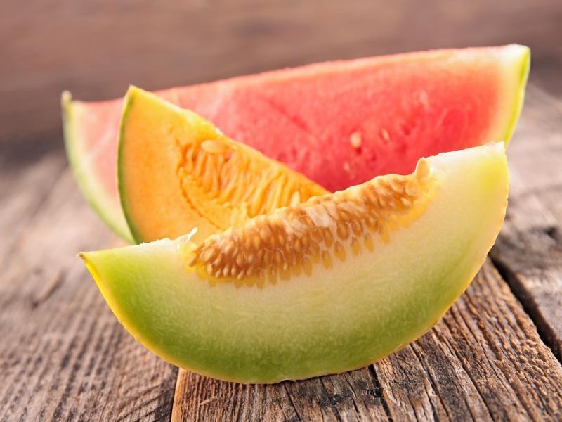 Koreczki z melona