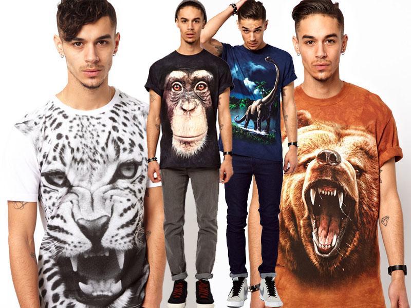 Koszulki 3D top 10! Trendy sezonu Polki.pl