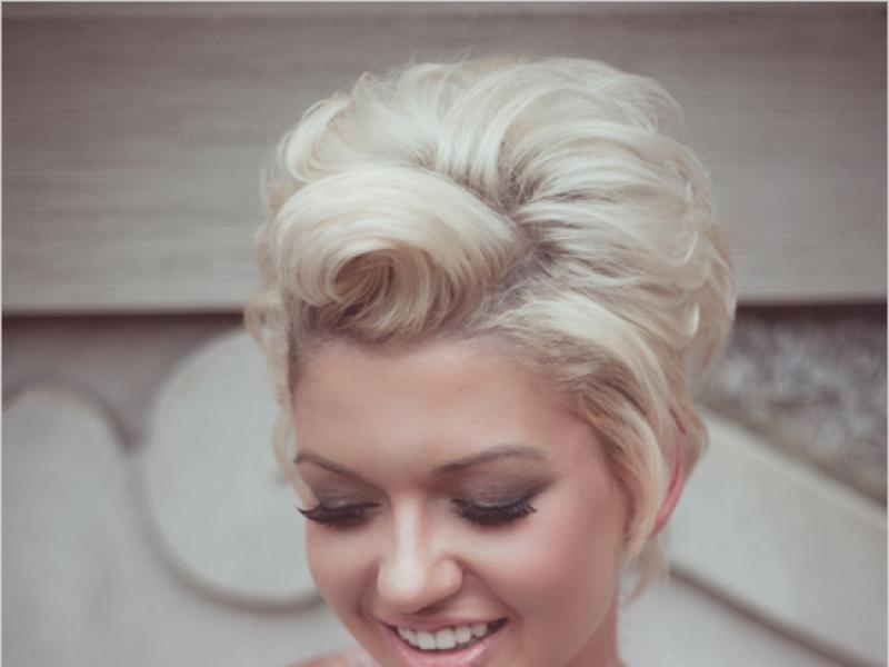 Krótkie Fryzury ślubne Idealne Uczesania Dla Panny Młodej