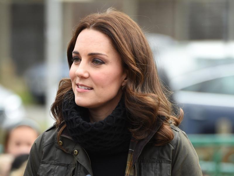 Księżna Kate kocha sieciówki! Tym razem pojawiła się w płaszczu z Zary
