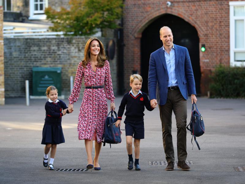 Kate i William odprowadzili księżniczkę Charlotte do szkoły