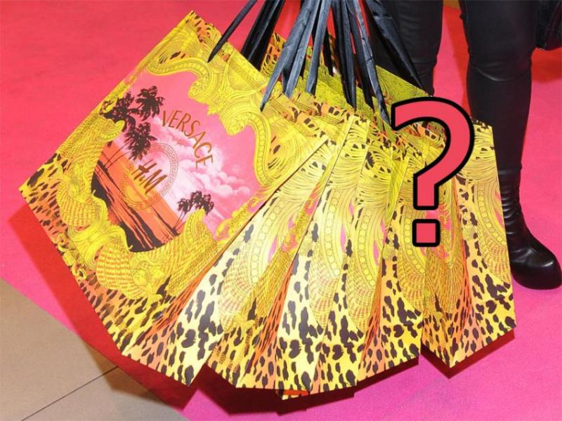 Kto kupił najwięcej na Versace for H&M?