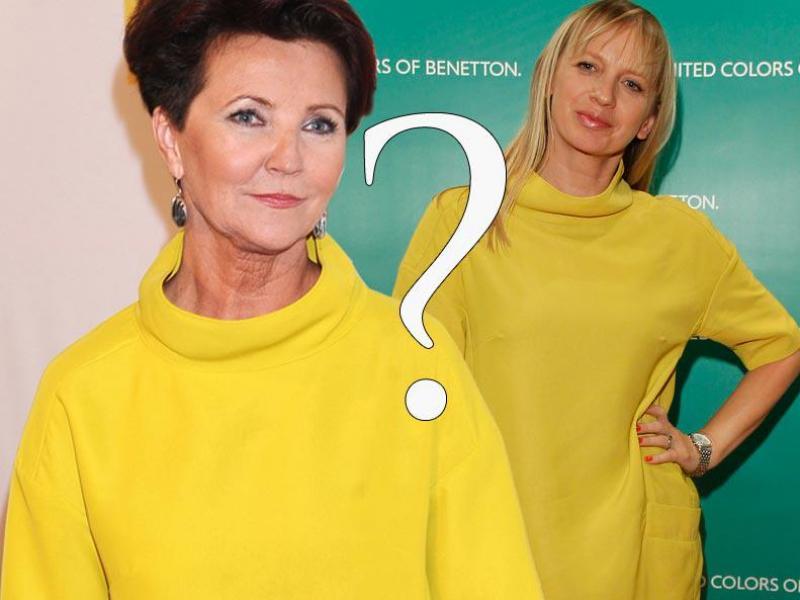 Kto lepiej w żółtej sukience