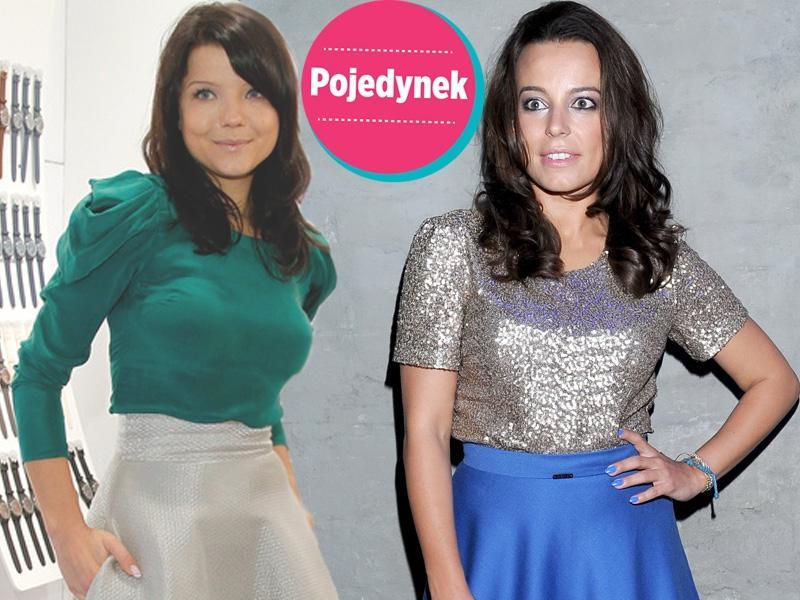 Która lepiej wygląda w rozkloszowanej spódnicy?