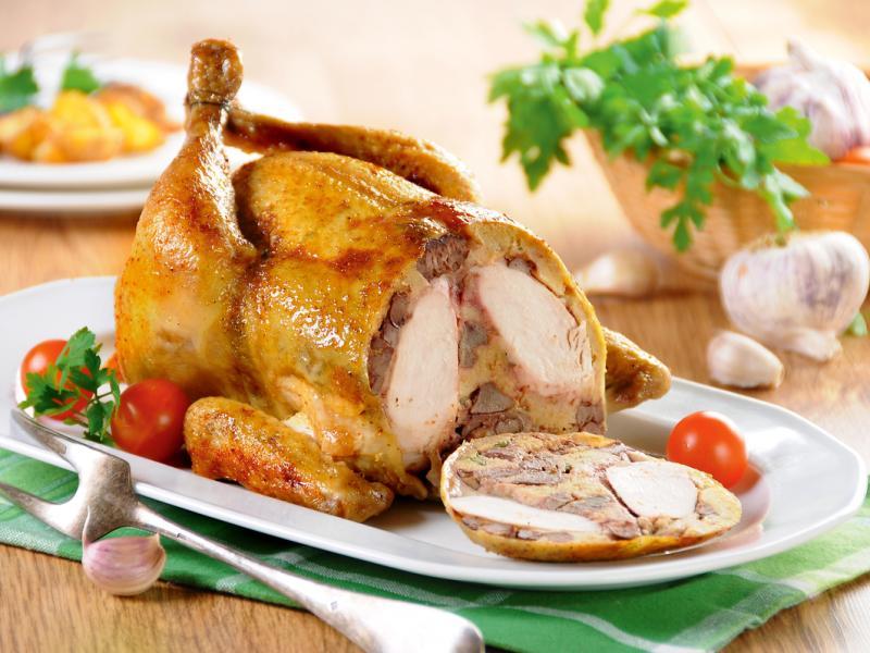 Kurczak nadziewany wątróbką