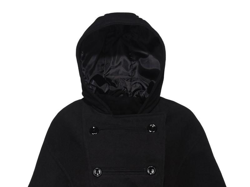 7be2ebbda czarny płaszcz New Yorker z kapturem - jesień/zima - Kurtki i płaszcze New  Yorker - kolekcja damska na jesień/zimę - Trendy sezonu - Zdjęcie 7 -  Polki.pl