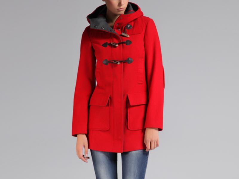4f3f64534f53 czerwony płaszcz Top Secret - moda na jesień 2013 - Kurtki i płaszcze Top  Secret na jesień i zimę 2013 14 - Trendy sezonu - Zdjęcie 17 - Polki.pl