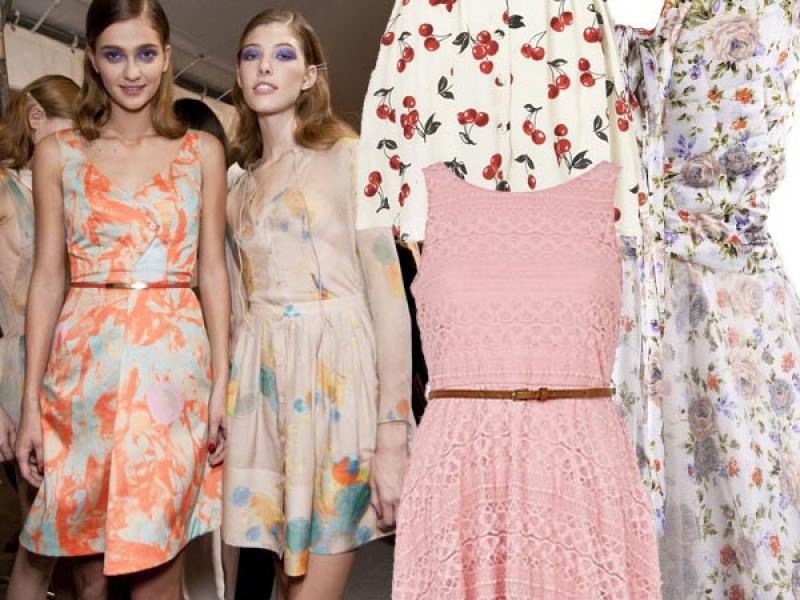 Letnie sukienki 2012
