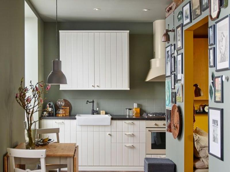 Mała Kuchnia Poznaj 10 Pomysłów Na Niewielką Kuchnię Wg Ikea