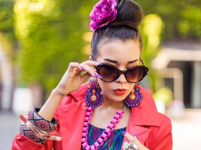 Macademian Girl i jej sposób na mocne kolory