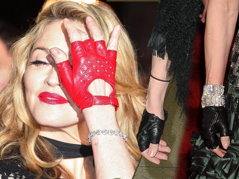 Madonna lansuje rękawiczki bez palców