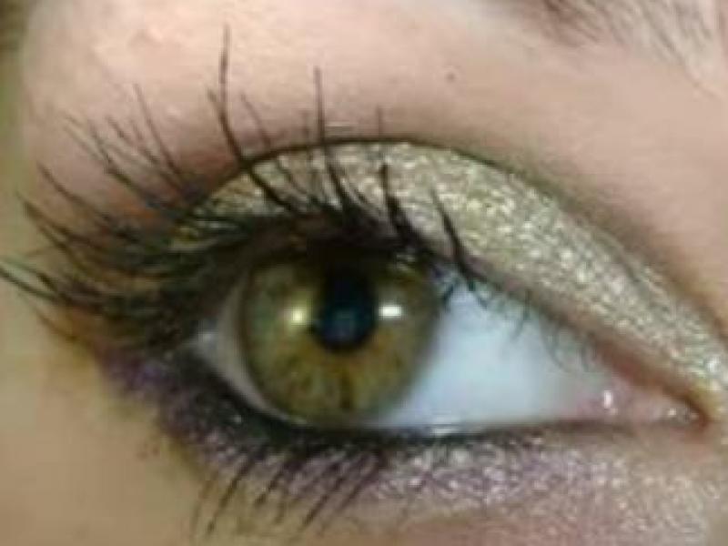 Makijaż dla niebieskich oczu (video)