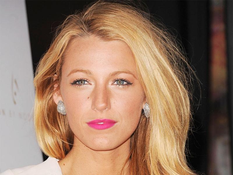 Makijaż w stylu Blake Lively