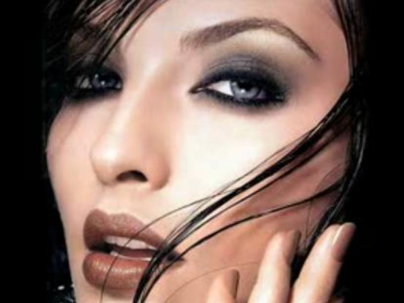 Makijaże dla niebieskich oczu (video)