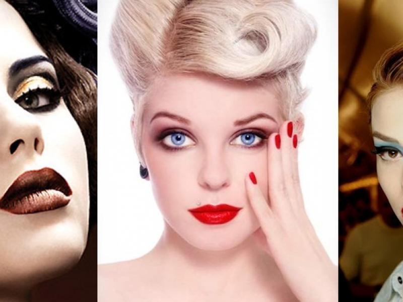 Makijaże Inspirowane Retro Twarz I Makijaż Polkipl