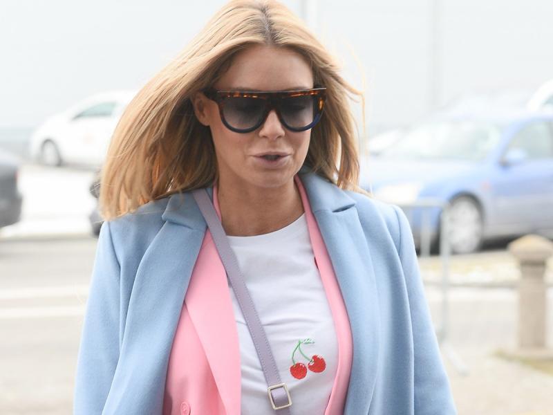 Małgorzata Rozenek-Majdan pokochała sieciówki! Tym razem wybrała pastelowy garnitur z Reserved