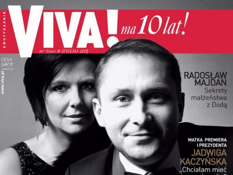 Marianna i Kamil Durczokowie na okładce magazynu Viva!