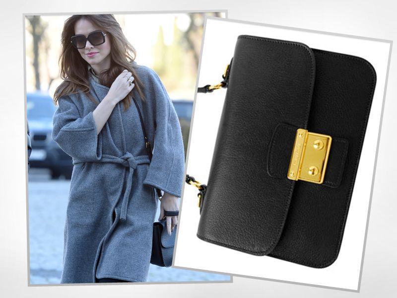 Marta Żmuda-Trzebiatowska nosi torebkę ze sklepu internetowego
