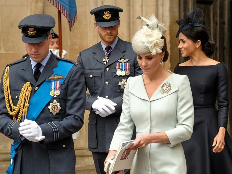 Książę Harry i księżna Meghan nie spędzą świąt z księciem Williamem i księżną Kate?