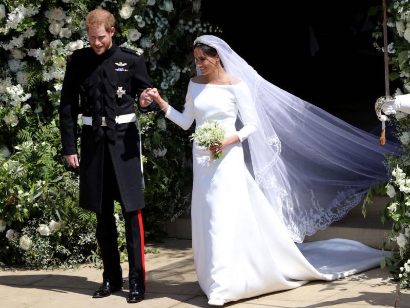 Meghan Markle Druga Suknia ślubna Księżnej Sussex Zdjęcia