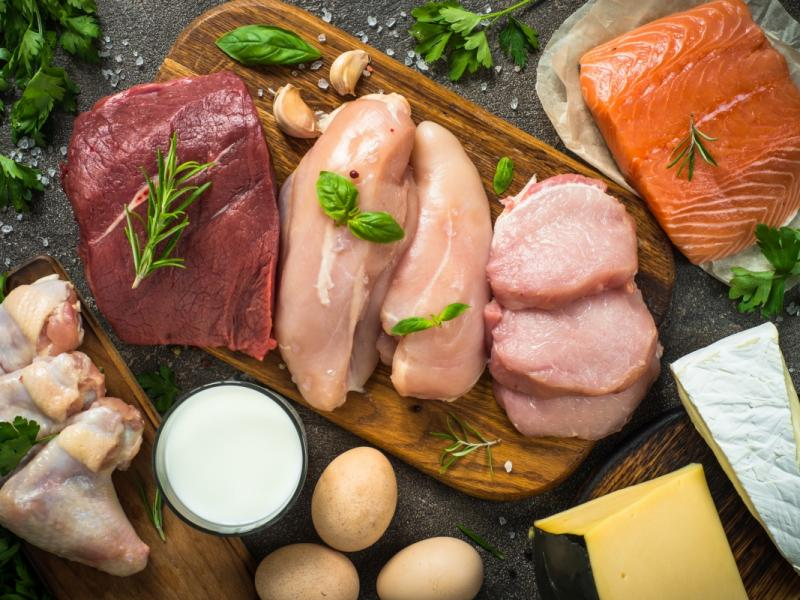 Mięso i inne produkty bogate w białko - podstawa diety OXY