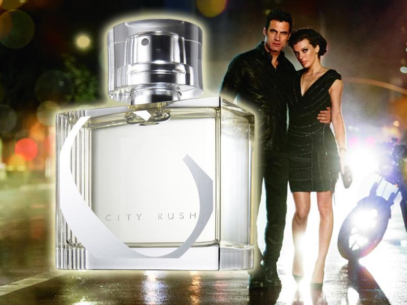 Milla Jovovich sygnuje nowy zapach Avon City Rush