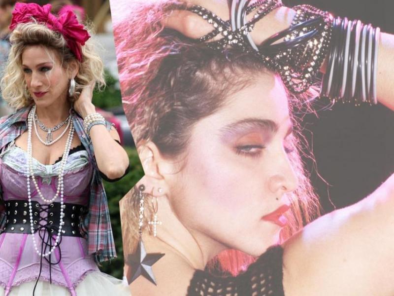 Moda na lata 80.