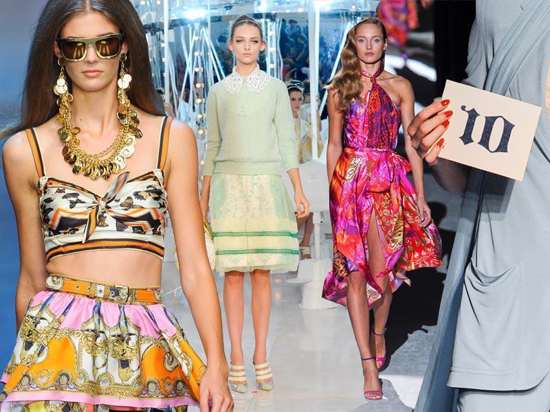 Moda na wiosnę 2012 - 10 głównych trendów