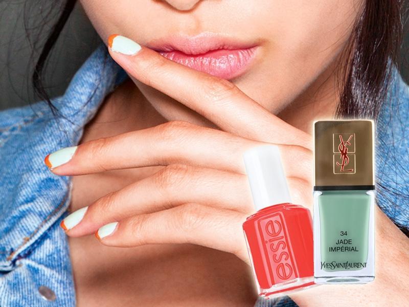 Modne pastelowe paznokcie na wiosnę 2013