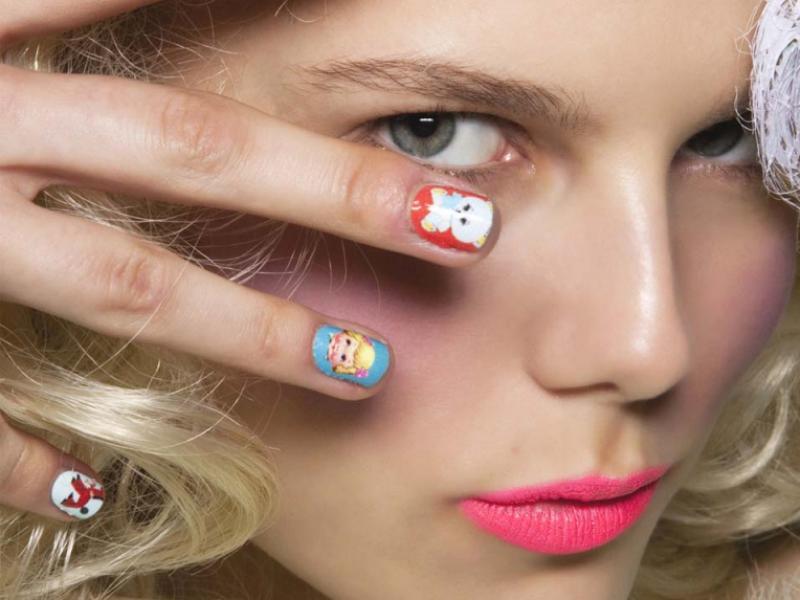 Modne paznokcie - trendy na wiosnę 2012