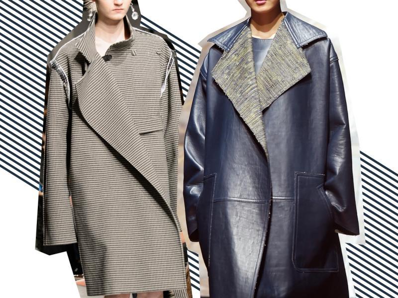 oversize płaszcze