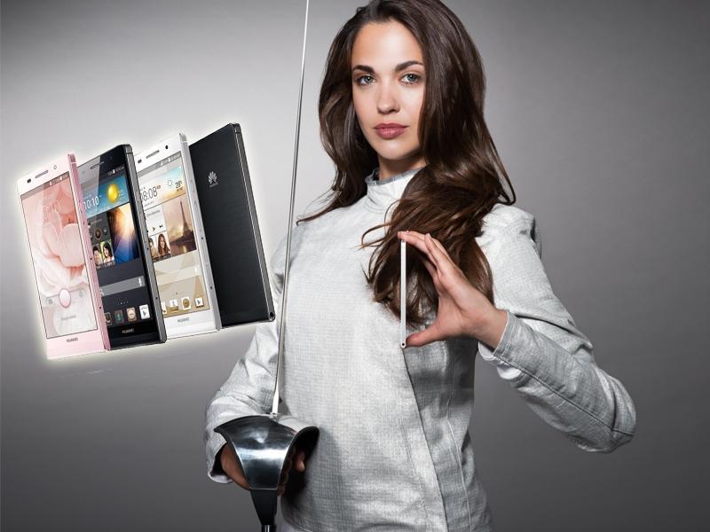 Modny gadżet i telefon w jednym - HUAWEI Ascend P6