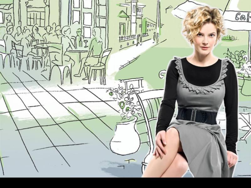 Monika Richardson prezentuje odzież!