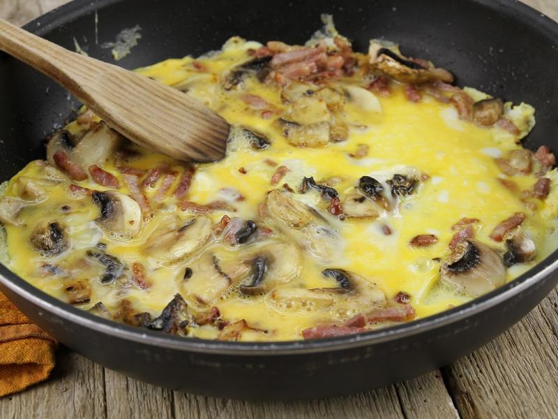 Mostek z omletem