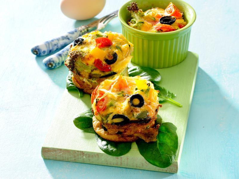 Muffinki z warzywami
