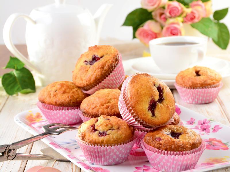 Muffinki z wisienką