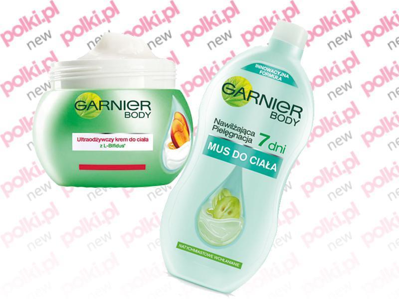 Garnier mus do ciała, nowe kosmetyki